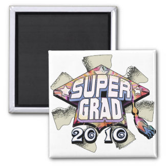 Super Grad 2010 gear by Mudge Studios Refrigerator Magnet