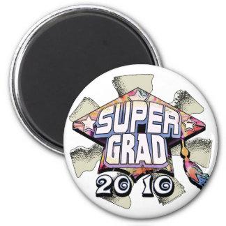 Super Grad 2010 gear by Mudge Studios Magnet