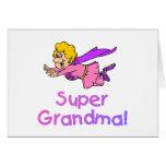 Super Grandma (Flying) Greeting Card
