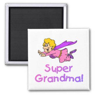 Super Grandma (Flying) Magnet