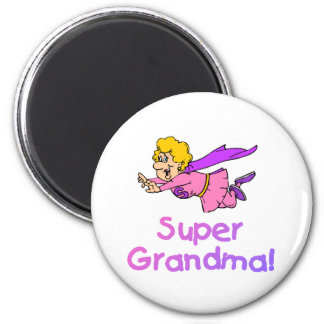 Super Grandma (Flying) Magnets