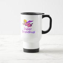 Super Grandma (Flying) Travel Mug
