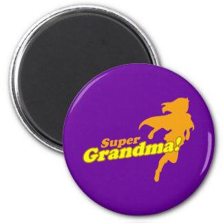Super Grandma Grandmother Grandparent's Day Magnet