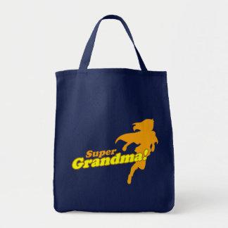 Super Grandma Grandmother Grandparent's Day Tote Bag