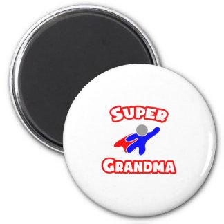 Super Grandma Magnets