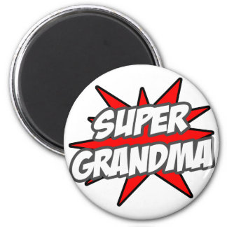 Super Grandma Fridge Magnet