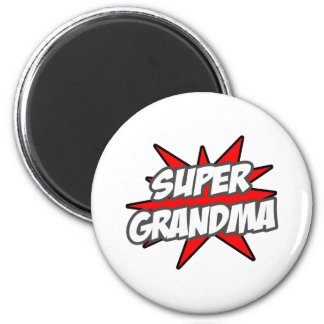 Super Grandma Fridge Magnets