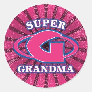 Super Grandma Sticker