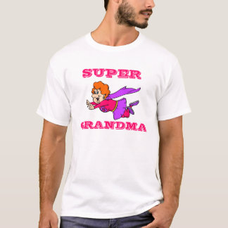 Super Grandma T-Shirt Template