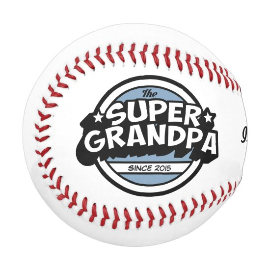Super Grandpa Baseball
