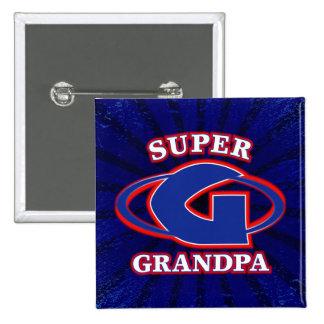 Super Grandpa Button