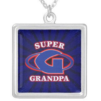 Super Grandpa Necklace