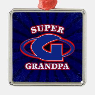 Super Grandpa Ornament
