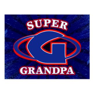 Super Grandpa Postcard