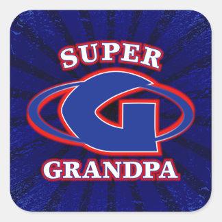 Super Grandpa Sticker