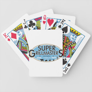 SUPER GRILLMASTERS BICYCLE PLAYING CARDS