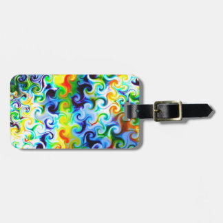 Super groovy gift for anyone bag tag