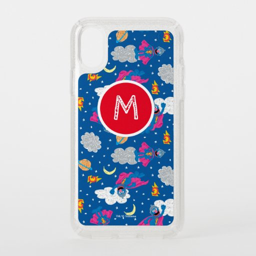Super Grover 2.0 Night Sky Pattern Speck iPhone X Case