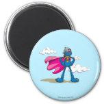 Super Grover 2 Inch Round Magnet