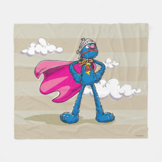 Super Grover Fleece Blanket