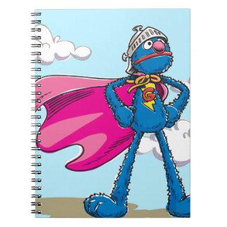 Super Grover Spiral Note Book