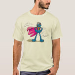 "Super Grover T-Shirt<br><div class=""desc"">It&#39;s Super Grover in his cape and helmet!         � 2014 Sesame Workshop. www.sesamestreet.org</div>"