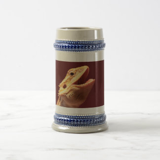 Super Happy Bearded Dragon Beer Stein