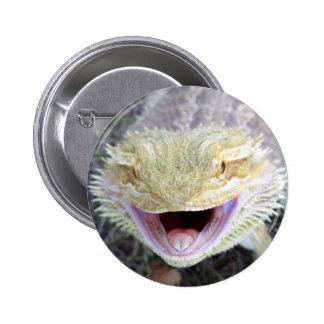 Super Happy Bearded Dragon Button