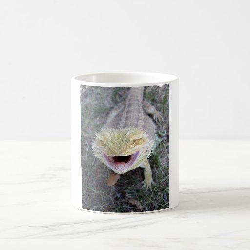Super Happy Bearded Dragon Coffee Mug