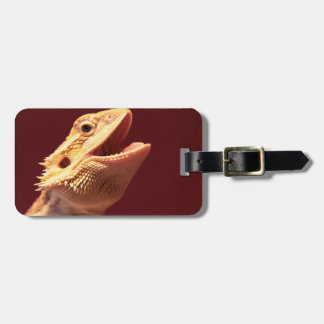 Super Happy Bearded Dragon Luggage Tag