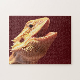 Super Happy Bearded Dragon Jigsaw Puzzle