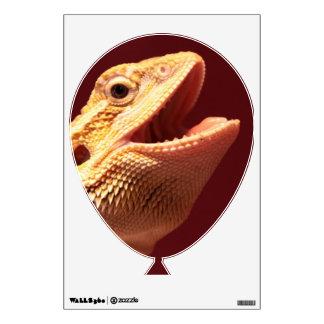 Super Happy Bearded Dragon Wall Sticker