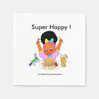 Super Happy Paper Napkin