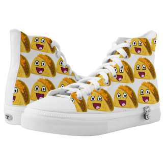 Super Happy Taco High-Top Sneakers
