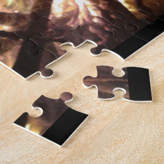 Super Hard Jigsaw of Roaring Fire Jigsaw Puzzle