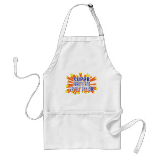 Super Health and Safety Officer Adult Apron