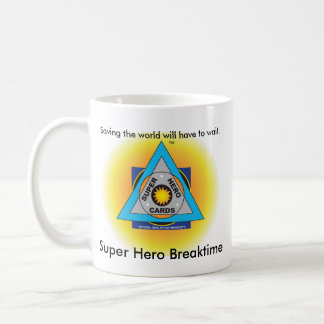 Super Hero Breaktime Mug