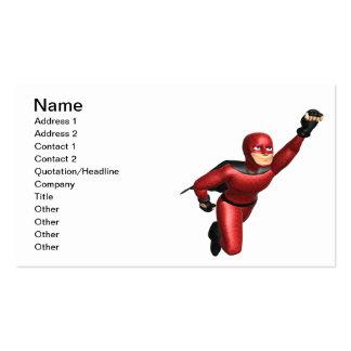 Super Hero Business Card Template