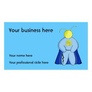 Super Hero Business Cards