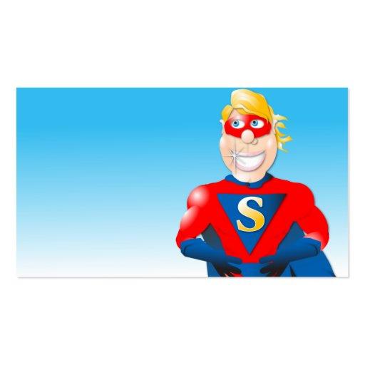 Super hero business card horizontal2 business card zazzle for Superhero business cards