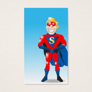 Super Hero Business Card Shell