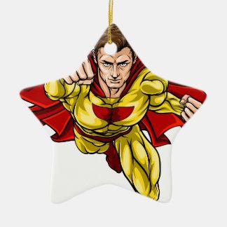 Super Hero Ceramic Ornament