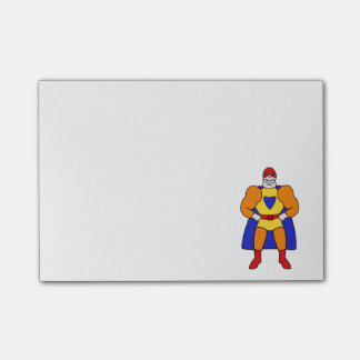 Super Hero Character Post-it® Notes