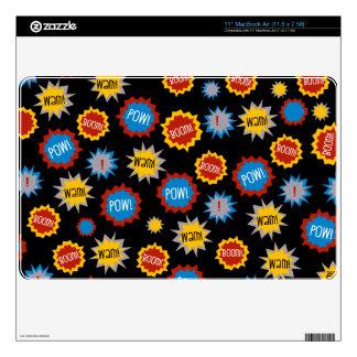 Super Hero Colorful MacBook Air Skin