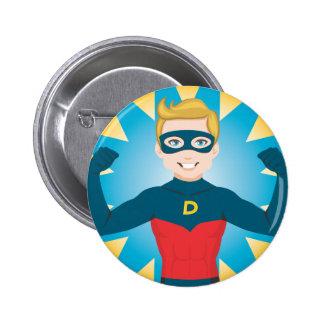 Super Hero Dad Pinback Button