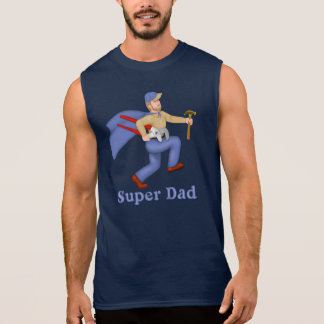 Super Hero Dad Sleeveless Shirt