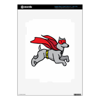 Super Hero Dog Decal For iPad 3