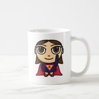 Super Hero Girl Character Coffee Mug