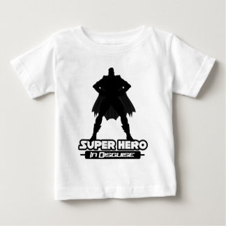 Super Hero In Disguise Baby T-Shirt