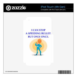 super hero iPod touch 4G skin